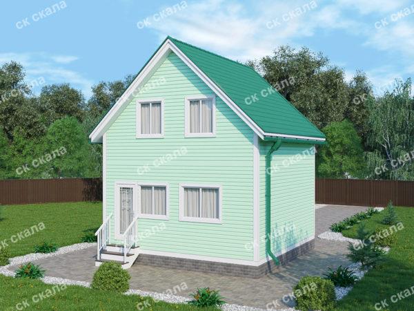Размер 6х6 (полуторный этаж) Цена 324 000 руб.